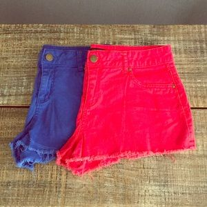 LOT of 2 Forever 21 Shorts